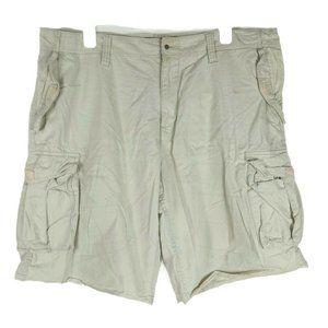 Old Navy Mens Loose Cargo Shorts 6 Snap Pockets